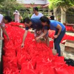 Bedrock Feeds 600 Families in Philippines