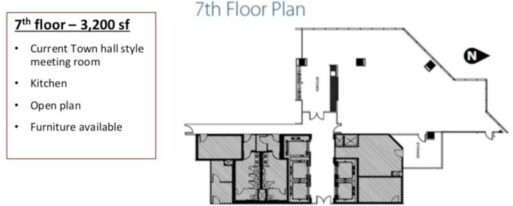 Keynote Office Tower 7th floor - floorplan