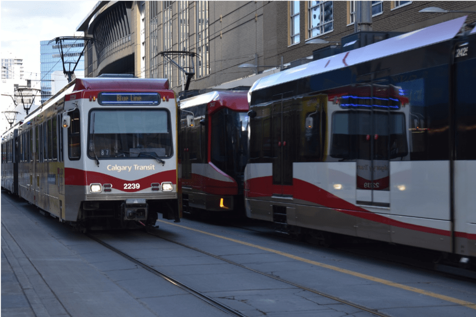 Calgary Transit Downtown