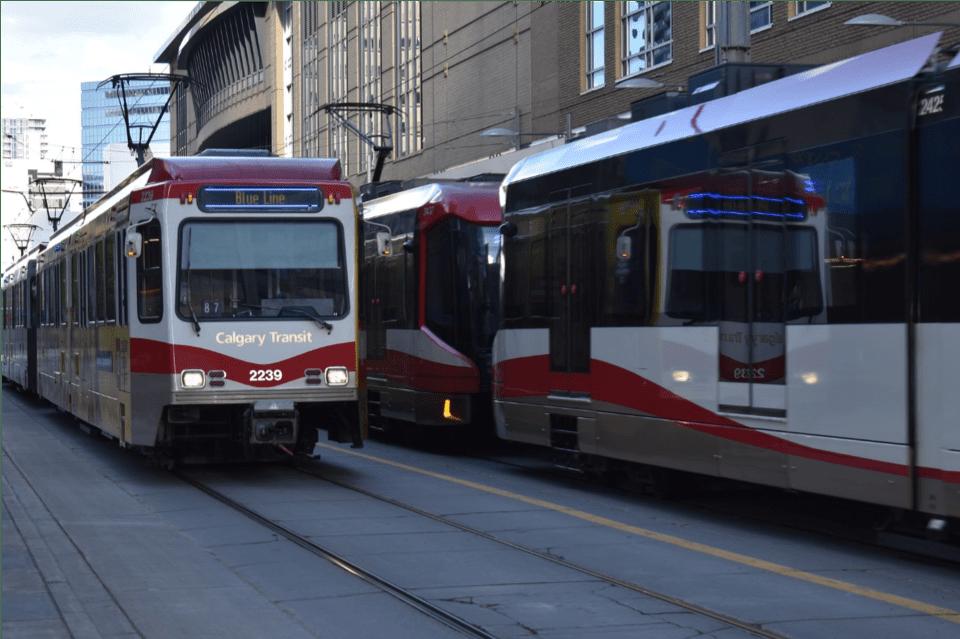 Calgary Transit Downtown
